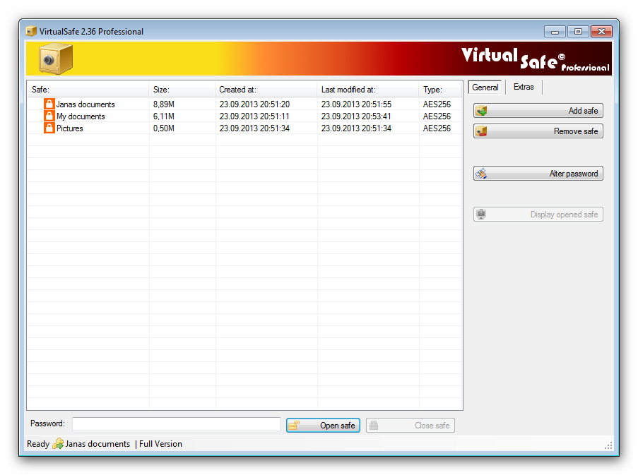 Windows 7 Virtual Safe Professional 2.5.6.0 full